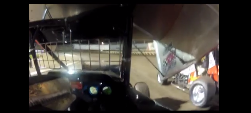 This Is The View From Inside A Sprint Car