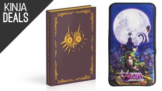 Majora's Mask 3DS Extras, Logitech Gaming Gear, and More Deals