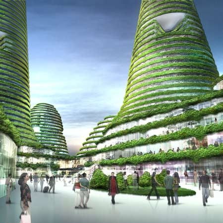 Dubai Got It Wrong: Hill-Shaped Green Buildings Are The Future