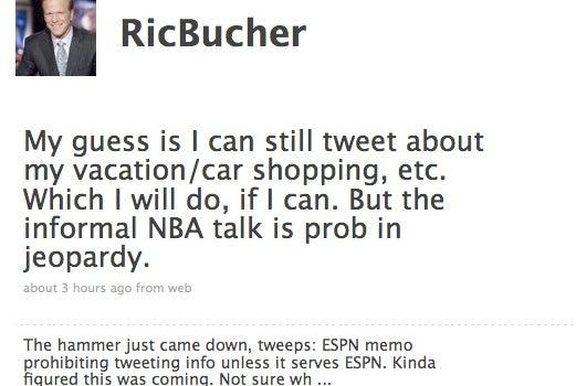 Hardline Twitter Memo Makes ESPN Employees Hilariously Paranoid