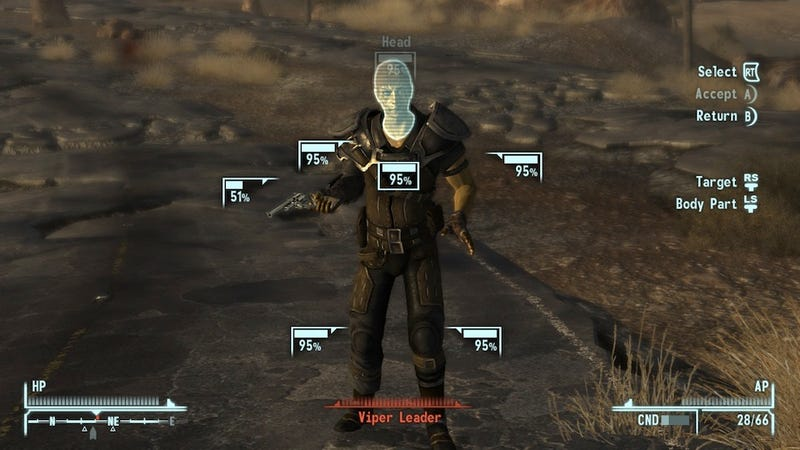 Return To New Vegas: God Bless V.A.T.S.