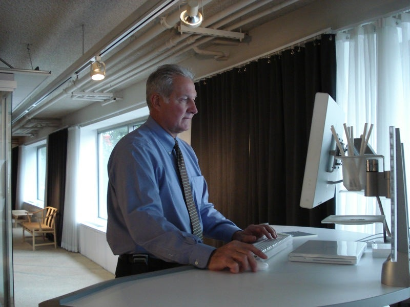 Hands (and Feet) On the Steelcase Walkstation (Video)