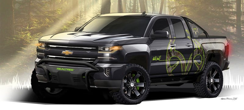 This Chevy Concept Truck Has Some Simple Accessories You'll Actually ...