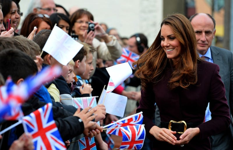 And Now, A Picture of Kate Middleton Dressed as an Adult Baby (UPDATE)