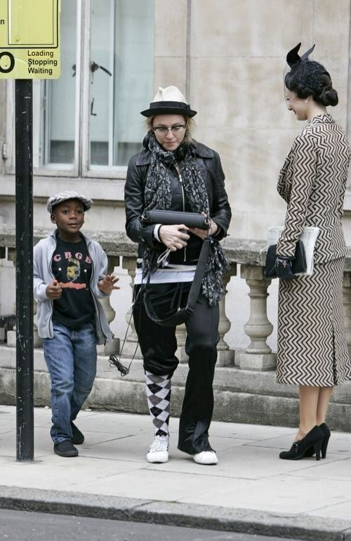 Madonna & Son Confronted By A Blast From The Past