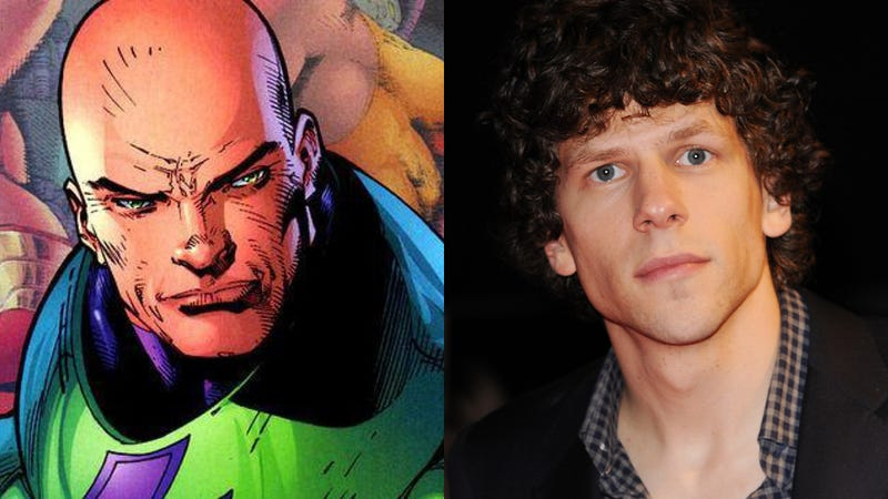 Meet your new Lex Luthor: Jesse Eisenberg