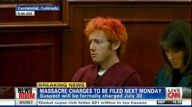 Here Is the Public's First Look at Shooting Suspect James Holmes