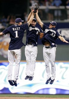 The Brewers Pull Even With The Cubs
