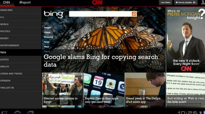 Tomorrow's Google Tablets Taste Like Honeycomb