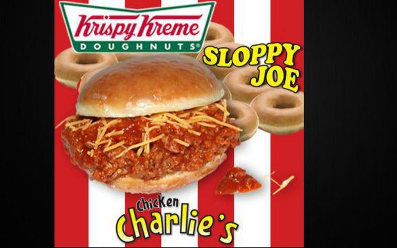 Have We Peaked? Introducing The Krispy Kreme Sloppy Joe
