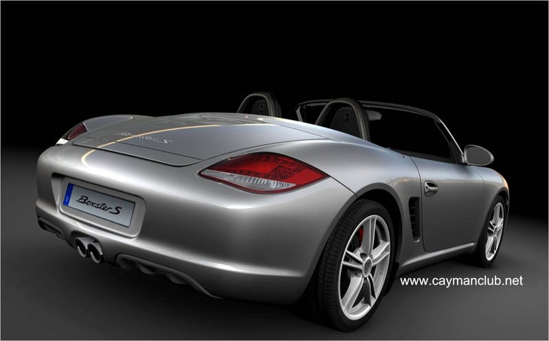 2010 Porsche Cayman Sneaks Into LA Just In Time For Auto Show