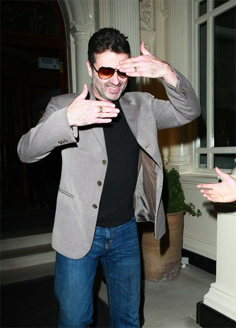 George Michael Knows How To Vogue. Sorta.