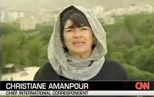 Is Christiane Amanpour Vapid Enough to Succeed in DC?
