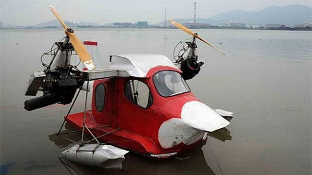 Self-Made Seaplane Takes Three Years To Build