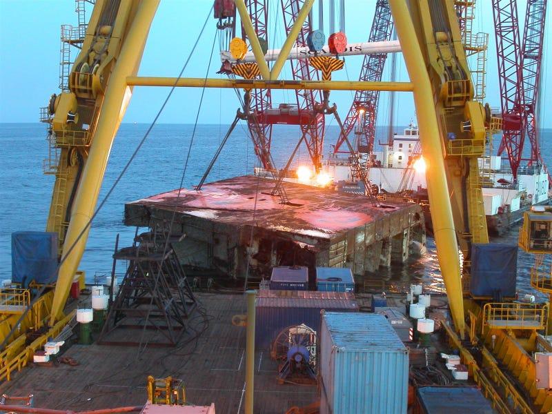 MV Tricolor Salvage Operation