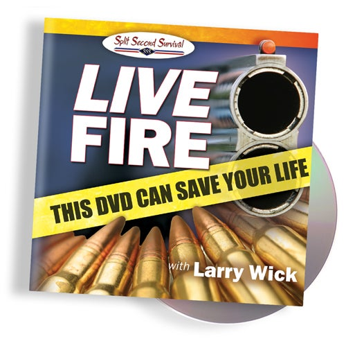 DVD Takes Bullet for Fire Chief in Fast-Food Shoot-Out