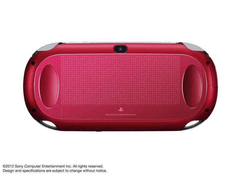 The PlayStation Vita Now Comes in Red and Blue