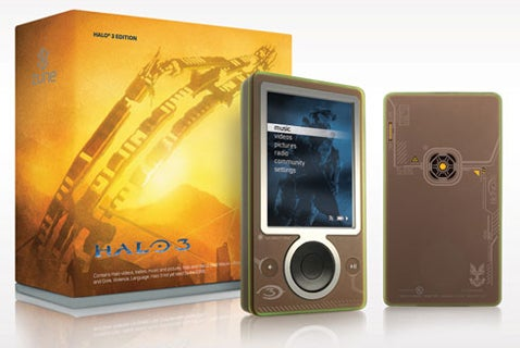 Microsoft Releases Another Halo-Themed Zune, Only for Sale to Military Personnel