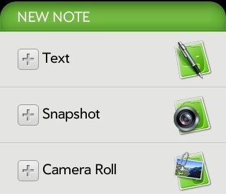 Evernote Available in Palm Pre App Catalog
