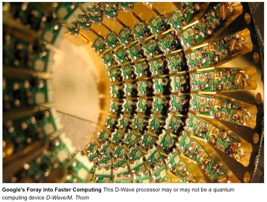 Google Demonstrates Quantum Algorithm Promising Superfast Search