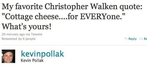 Fun Christopher Walken Quote Haunts Twitterati