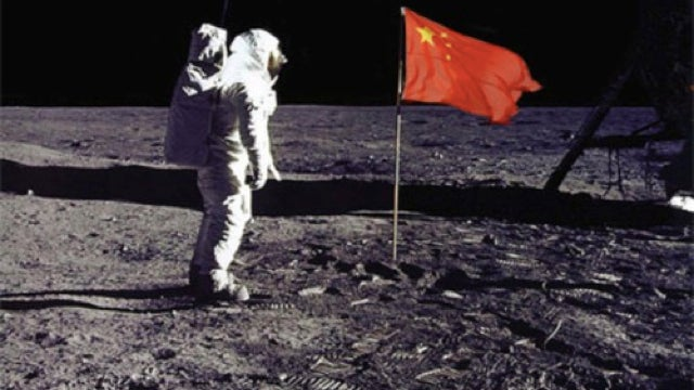 China is sending an astronaut to the Moon