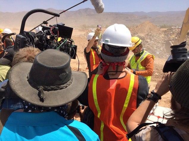 E.T. Found In New Mexico Landfill