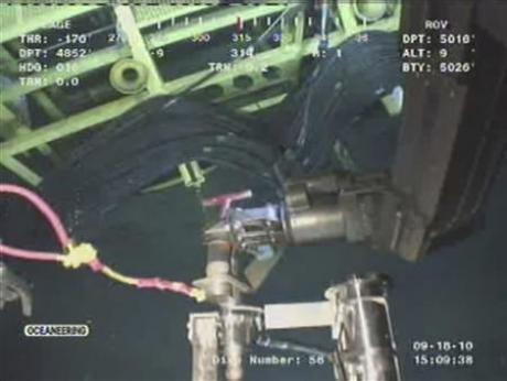 BP Oil Well Permanently Sealed