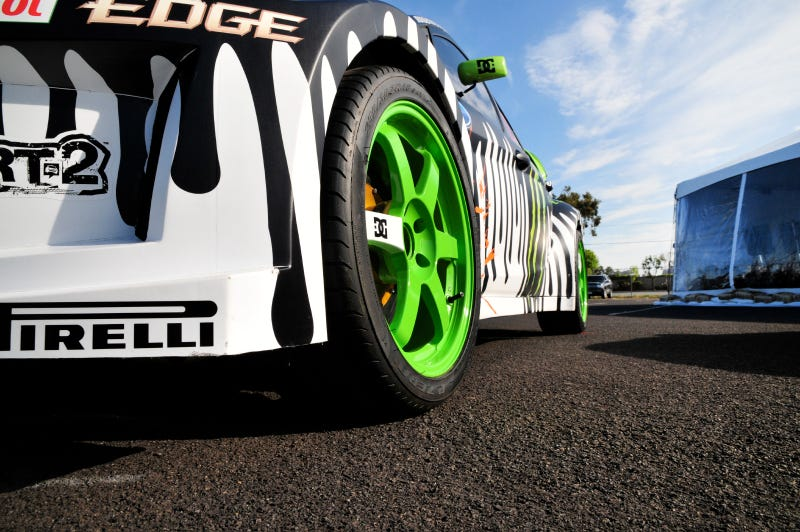 Ken Block's Gymkhana Ford Fiesta: Up Close And Personal