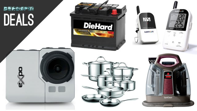Deals: Wireless Grill Thermometer, Tri-Clad Cookware, Action Cams