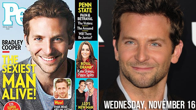 Foxy Francophile Bradley Cooper Anointed Sexiest Man Alive