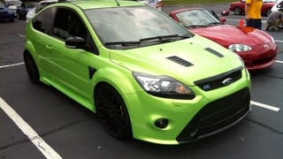 So this showed up at an autocross yesterday - Ford Focus RS
