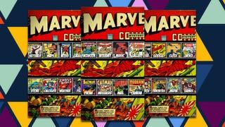 The Marvel Comics Home Screen