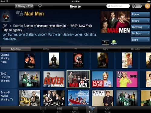 Multitask With TiVo's iPad App