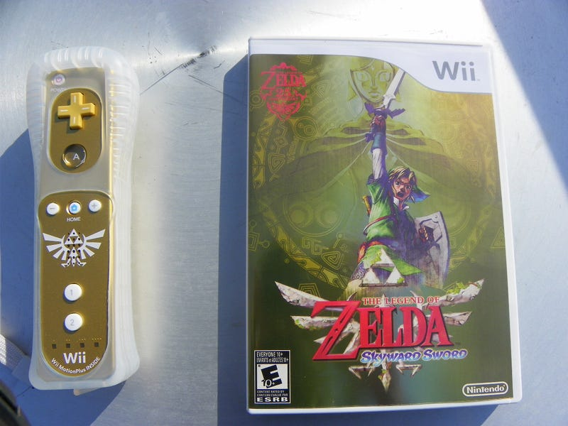 This is How Our Copy of The Legend of Zelda: Skyward Sword Begins