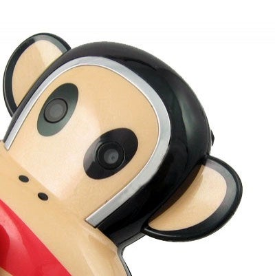 Paul Frank Counterfeit Cellphone is Magnificently Gaudy and Monkey Shaped