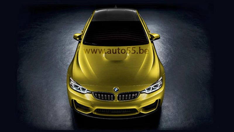 Is This The 2015 BMW M4?