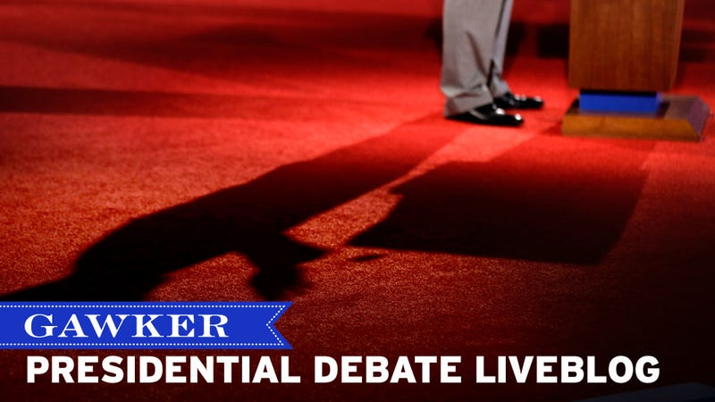 A Nation Zinged: The Gawker 2012 Presidential Debate Liveblog