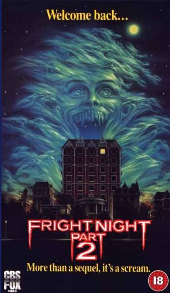 The true enemy of Fright Night is the weirdly sincere Fright Night II