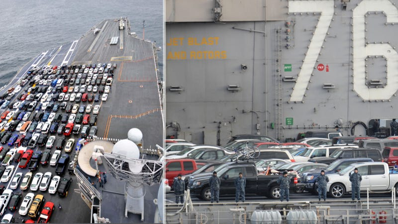 This Aircraft Carrier Is The World's Most Expensive Parking Lot