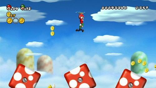 New Super Mario Bros. Wii, As Marriage Simulator