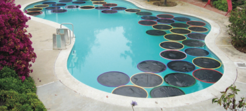 DIY Hula Hoop Pool Warmers