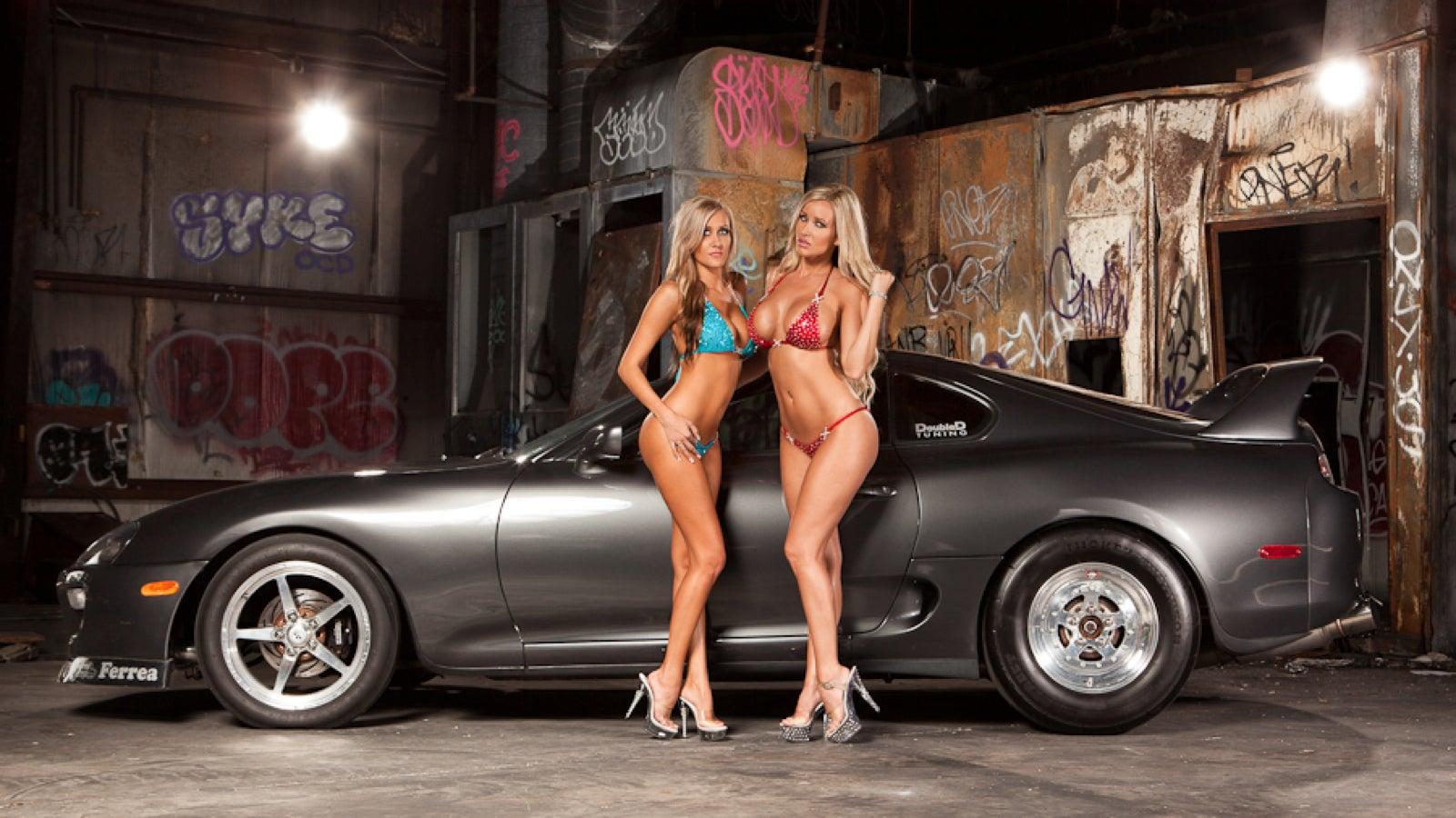 Фото сексуальные девушки и автомобили 8 фотография