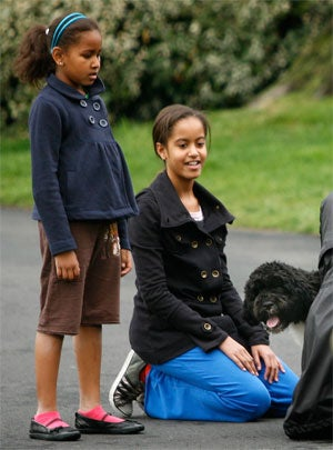 Obama Girls Are Over The Dog; Souter To Step Down From Supreme Court