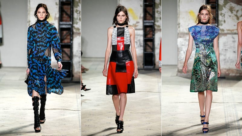 Proenza Schouler, for the Color-Blind Future-Dwelling Career Gal in You