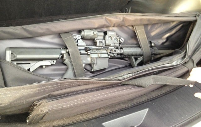 Ryan Tannehill's Wife Left This Big-Ass Gun In A Rental Car