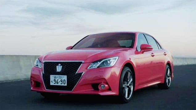Toyota's Pink Grandpa Car Is Surprisingly Awesome
