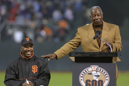Hank Aaron Doesn't Want the Homerun Record Back