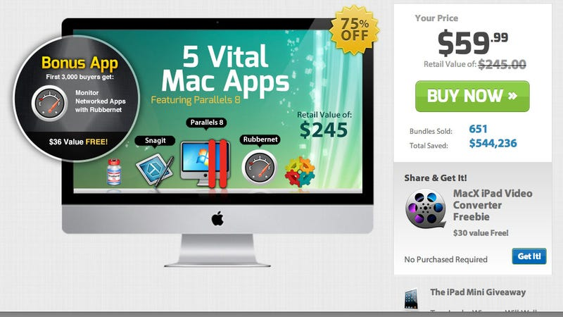 The Mac Utility Bundle Gets You Parallels 8 at $20 Off (Plus Four Other Apps)