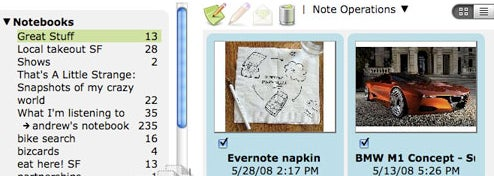 Evernote 3.0 Polishes Interface, Adds Mac Client